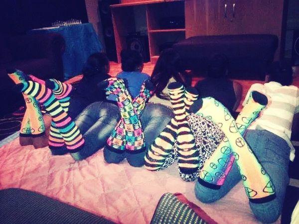 Glow inthe dark socks
