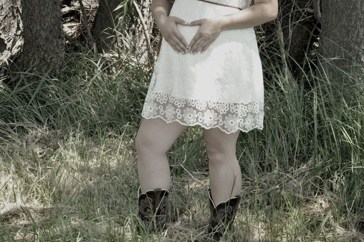 Maternity Shoot Baby Country Girl Pregnant