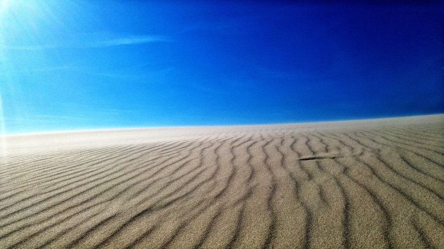 Sand Nature Outdoors Blue Day Beauty In Nature Landscape Clear Sky Desert No People