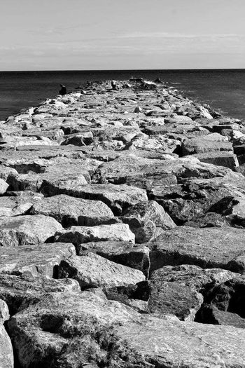 Beach Beach Photography Wavebreaker Beach Life Johnnelson Lifeasiseeit Contemporary Loneliness Monochrome Lines Pattern Pieces Solitude The KIOMI Collection