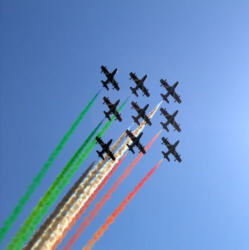 Frecce Tricolore, the Italian Air Force aecrobatic team Air Force Italy