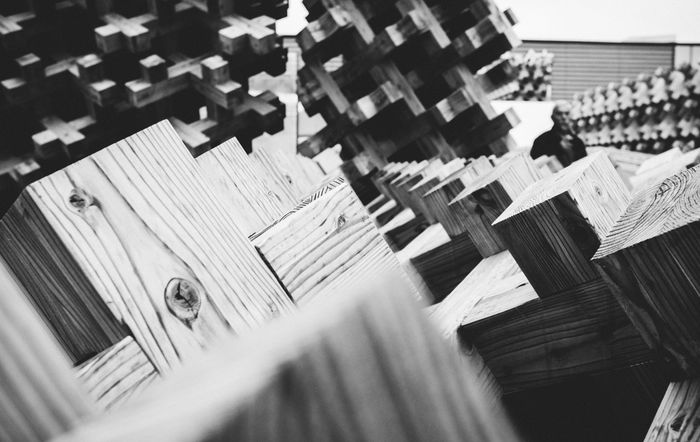 Only wood Black And White Blackandwhite Copy Space Depth Of Field Expo Expo 2015 Expo Milano 2015 Expo2015 Expo2015milano Fuji X100s FUJIFILM X100S Japan Pavilion Japanese  Milano Expo 2015 Monochrome Pattern Selective Focus Wall - Building Feature X100S