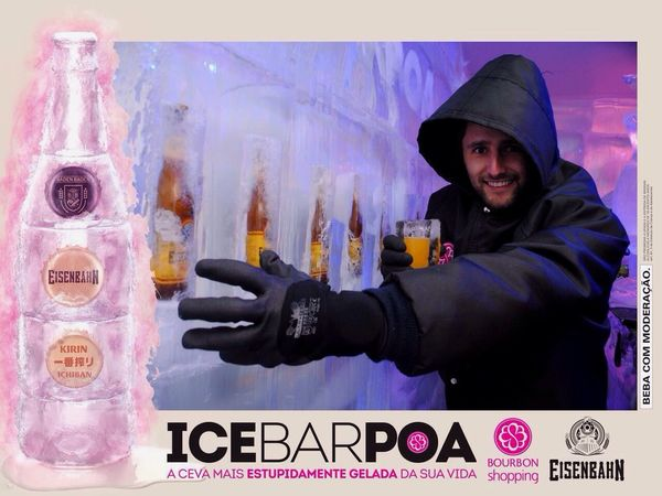 Ice bar ❄️❄️-10c