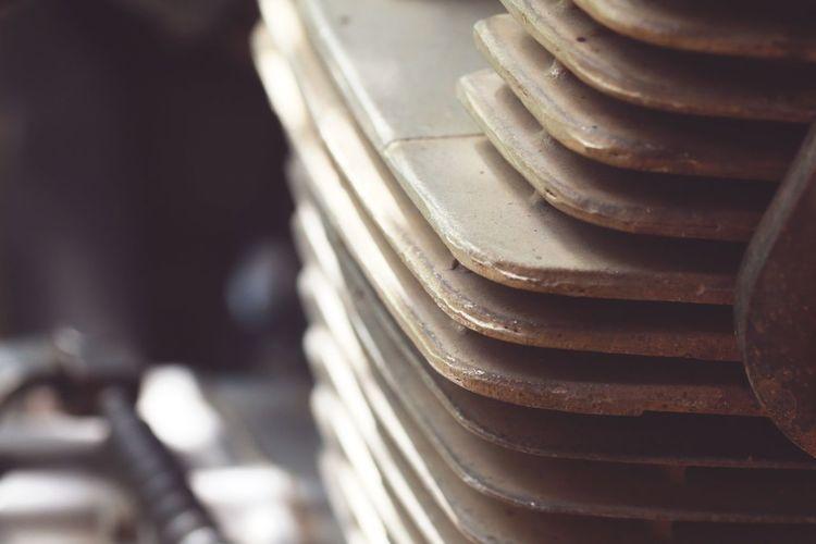 Bike Motorcycle Biker Machine Vintage Old Machine Head Coin Metal Close-up