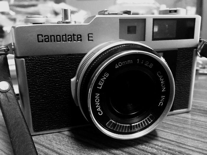 grandmom's camera :) Canon Filmcamera CanodateE 40mm F/2.8