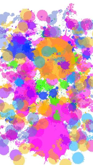 many color Ink