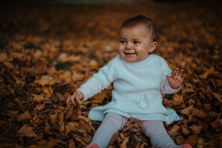 Autumn baby shooting