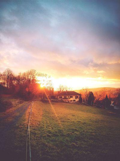 Goodbye hesse! I Miss You too. Sunset EyeEm Best Shots - Sunsets + Sunrise