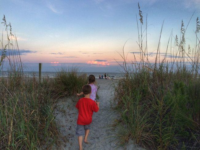 Beach Summer Sunset Tadaa Community Vacation