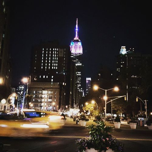 New York I love you ♡ Empirestatebuilding Empirestateofmind Cityofdreams  Bestcity NYC Beautifulnight