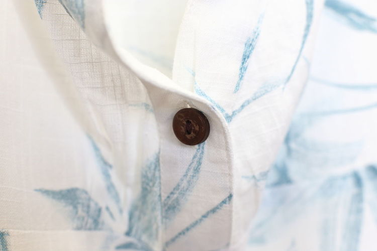 Full frame Handmade Button down shirt.close up. Close-up White Color Textile Clothing No People Button Indoors  Full Frame Extreme Close-up Button Down Shirt Material Selective Focus Midsection Fashion Backgrounds Day Tailor Fabric Craft Handmade Knitting Hobby Clothes Blouse Beige