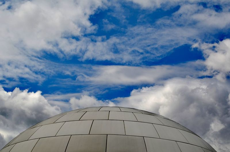 EyeEmSelect Planetarium Building Construction Dome Sky Architecture Cloud - Sky High Section Curve Above