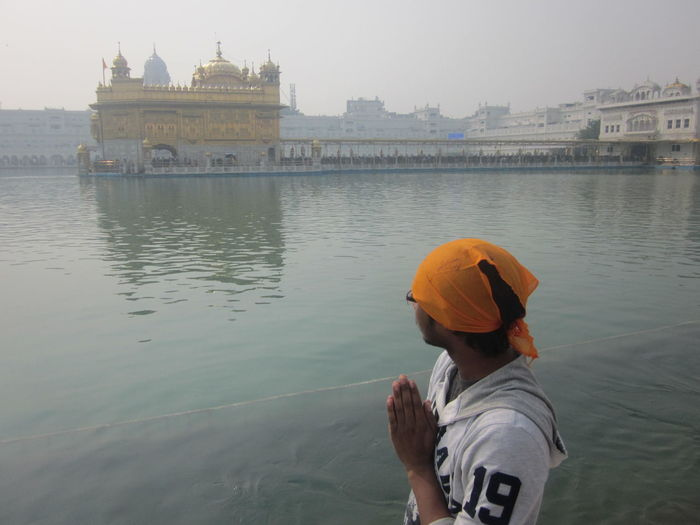 Amritsar Cultural Heritage Culture Golden Temple India Indian Traditional Water