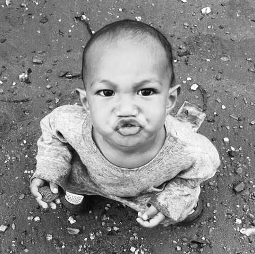The Portraitist - 2017 EyeEm Awards -Kiddo🍀 Baby Childhood Babies Only Looking At Camera Portrait Sand Beach One Person Cute Child Day People Outdoors Close-up Adult Photography MadeInTimorLeste EyeEm Gallery Photographing Walking Around Taking Pictures