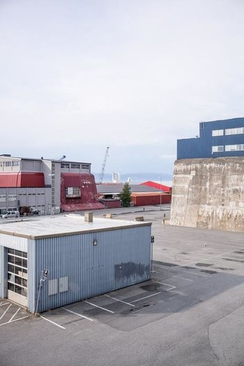Architecture Building Exterior Built Structure Day Europe No People Norway Outdoors Shipping  Shipping Yard Sky