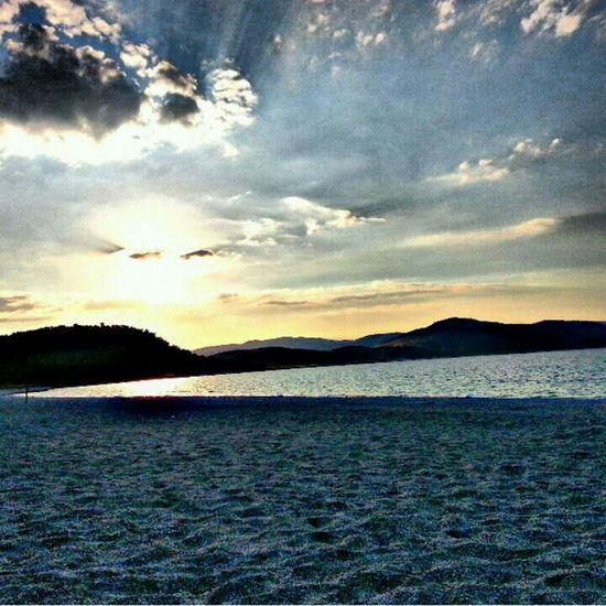 Salda Lake Turkey Burdur Gün Batımı