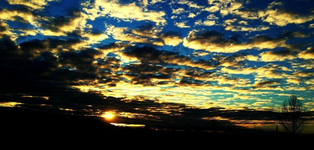 Sunrise in Tirana/Albania First Eyeem Photo
