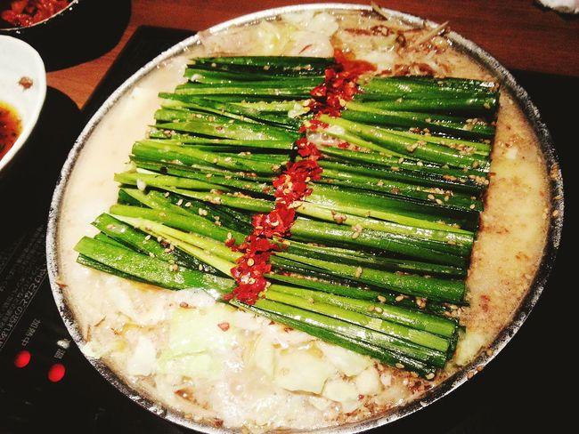 Food Fukuoka おおやま もつ鍋 お腹いっばいです( ´∀`)