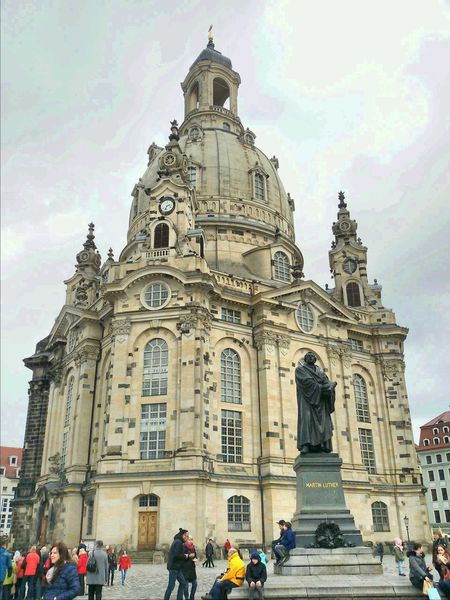 Church Churches Churchporn Frauenkirche Frauenkirche Dresden Dresden Sachsen Saxony Martin Luther Sightseeing Germany Discover Your City Street Streetphotography Cityscape Dresden♡ City Life Cityscapes City