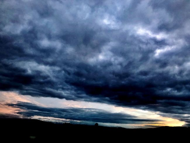 Good night Skyisburning Swizerland First Eyeem Photo Sky Cloud - Sky Nature Scenics Silhouette Beauty In Nature Dramatic Sky Sunset Storm Cloud Day Outdoors