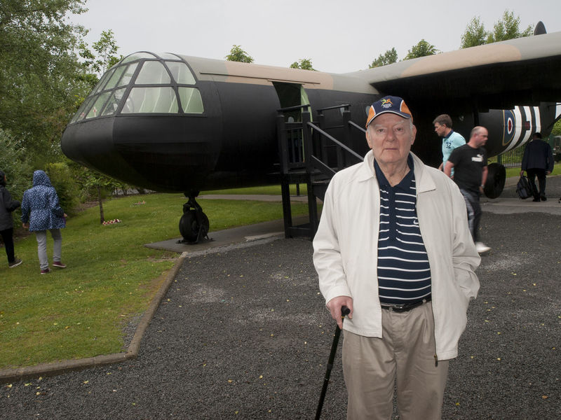 Veteran Returns to Pegasus Bridge 75th Anniversary D Day Landing Normandy France. D Day D Day Landing Glider Horsa Gliders Major John Howard Operation Deadstick Parachute Battalion Pegasus Bridge
