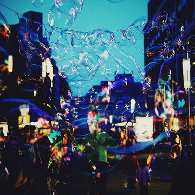 more Bubbles ... Temporary  Fascination Magic feelslikebeingakidagain hometownlove leipzig thisisleipzig