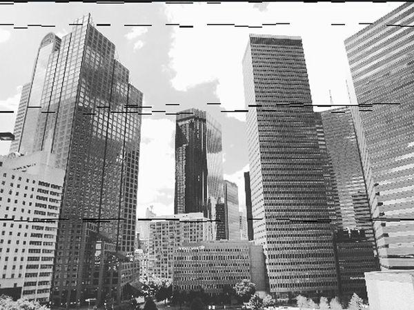 Urban Lifestyle Birds Eye View City Life Skyscrapers Best Of EyeEm Black And White My View Enjoying Life Glitch Windows