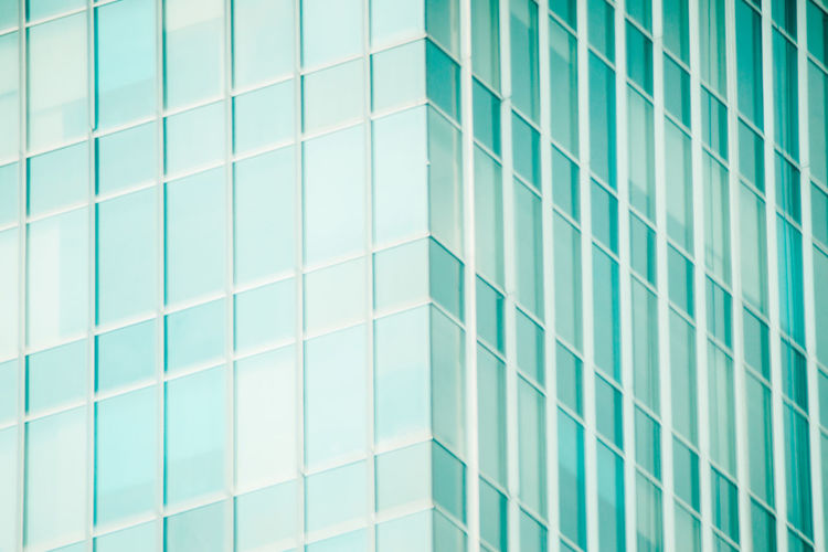 My Best Photo Full Frame Backgrounds Pattern Architecture Built Structure Geometric Shape No People Repetition Shape Design Building Exterior Building Day Modern Office Building Exterior Glass - Material Blue Wall - Building Feature Architectural Feature Turquoise Colored Reflection