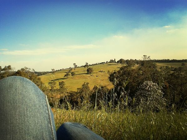 Country Life Country Living 🚜🌾🌽 Rolling Hills Under Blue Skys HOME AGAIN