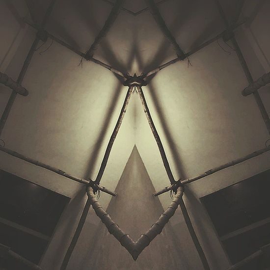 Symmetry Lifeingoa . . . . Scaffolding Mirror Bamboo Staircase Surprise Igers Igersoftheday Igers_india Wednesday Julyphotochallenge Birthdaymonth Amateur Photographer Photooftheday Picoftheday Goa Light Symmetryseries Mustinstagram Freelancerlife Latergram Edited Snapseed