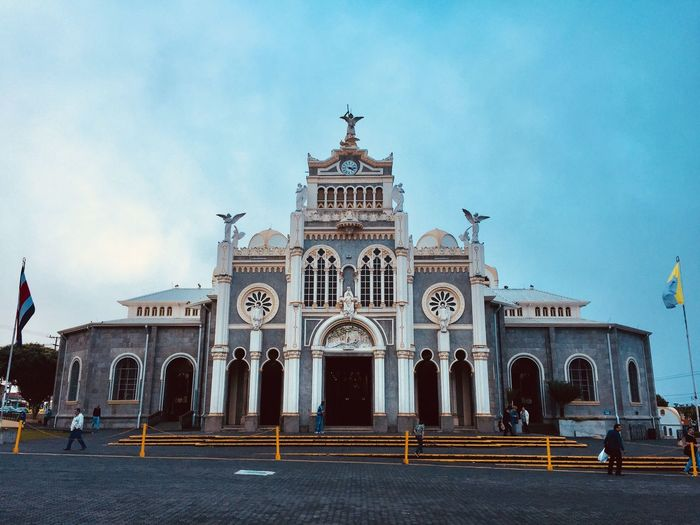 Church Architecture Built Structure Religion Building Exterior Spirituality Place Of Worship Arch Travel Destinations Day Sky