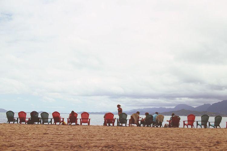 Hawaii Travel Kualoa Sea People Beach