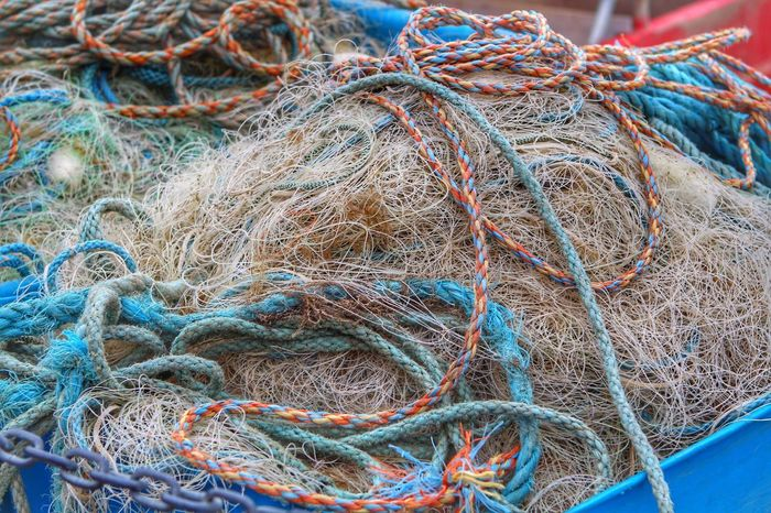 EyeEm Selects EyeEm Gallery Eye4photography  EyeEmNewHere EyeEm Best Shots Enjoying Life The Week on EyeEm Exceptional Photographs Photography Popular Photos Fishing Net Fishing Commercial Fishing Net Fishing Industry Rope No People Blue Day Complexity Pattern Full Frame Close-up Tangled Still Life Backgrounds High Angle View Equipment Fishing Rod Outdoors Connection