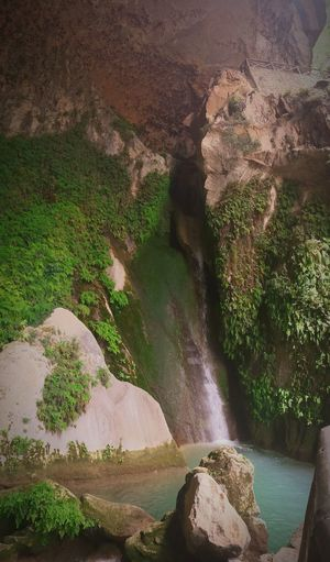 Agua para un lugar sagrado Quesada Cazorlaseguraylasvillas Cueva Del Agua Jaen Province Jaen Provincia