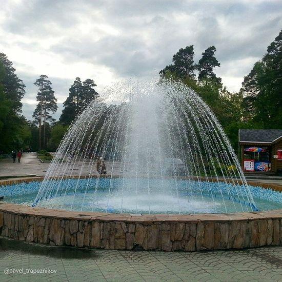 20140608 , Новосибирск . Новосибирский зоопарк . фонтан у главного входа/ Novosibirsk. Novosibirsk Zoo. The fountain at the main entrance.