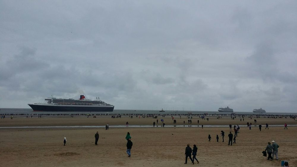 Liverpool 3 Queens Check This Out Queen Mary 2 Taking Photos How's The Weather Today? Hello World