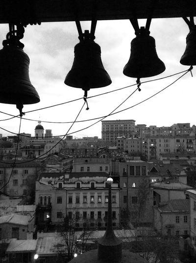 Monochrome Black&white My City Bells