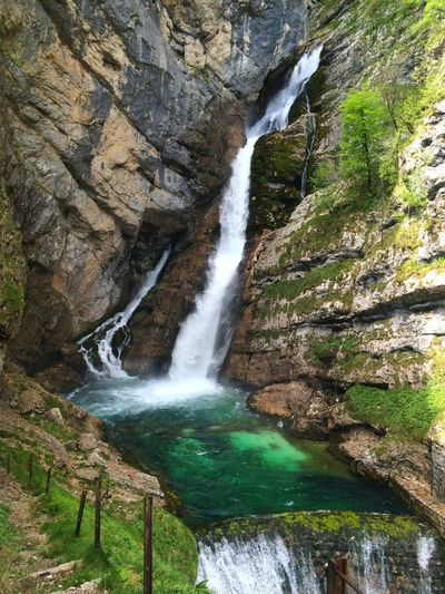 Slovania Triglav National Park Savicia Slap ( Savica Waterfall) Waterfall_collection Julian Alps
