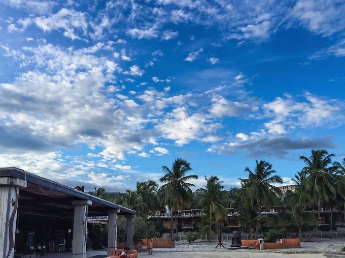 Clouds at Isha