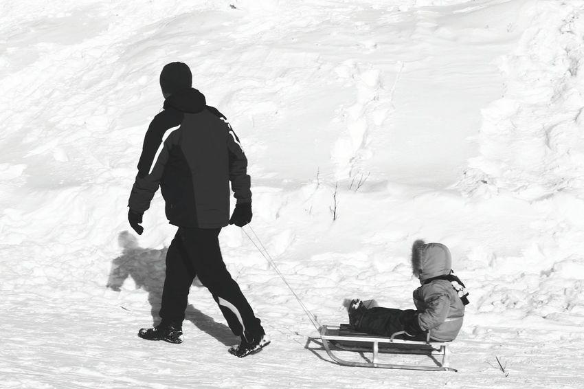 Taking Photos Streetphoto Winter Blackandwhite People