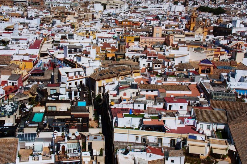 Sevilla from above. EyeEm Best Shots EyeEmNewHere Travel Photography Travel Destinations Travel Wanderlust Urban Skyline Urban Geometry Urban Crowd Architecture City Building Exterior Built Structure High Angle View Crowded Cityscape Building City Life Town EyeEmNewHere