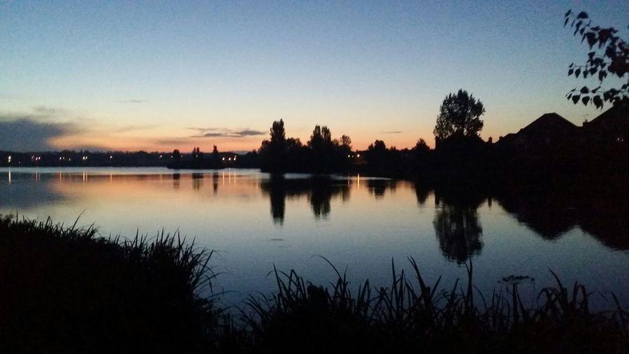 6am at Furzton Lake Morning Miltonkeynes Furzton Lake Nofilter Running