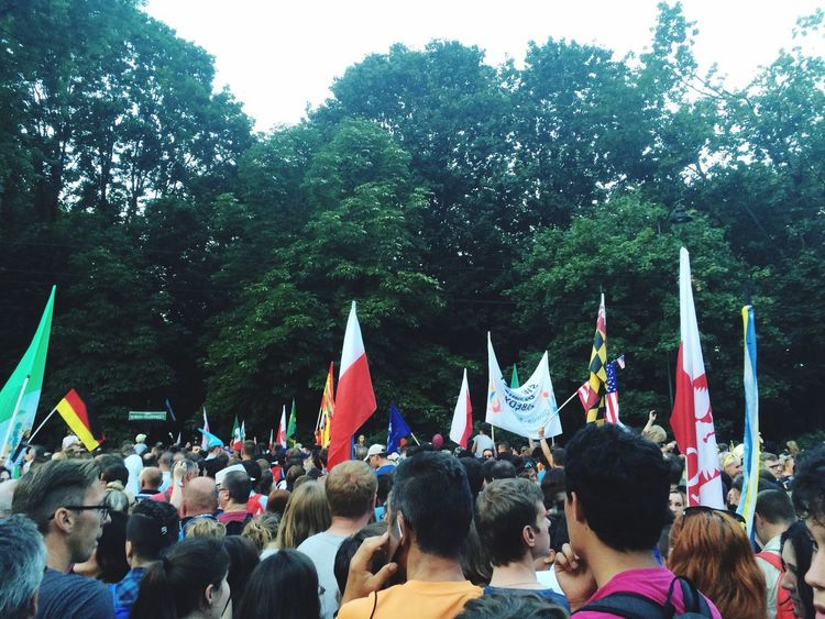 People Together Krakow Flag World People Wyd Sdm Gmg Youth Day