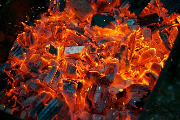 огонь пламя уголь языки пламяни Fire Burning Heat - Temperature Fire - Natural Phenomenon Flame Orange Color No People Outdoors Textured  Campfire Nature Backgrounds