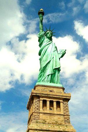 Ladyliberty Newyork Statueofliberty Peace Clouds Sky Beautifulday NYC Summer16