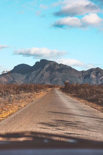 Image of bluff knoll- the highest peak of the stirling range in western australia.