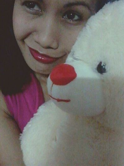 My teddy and i... Hello World