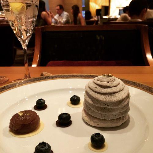 The Kitchen Chestnut Cake Dessert Macaufood