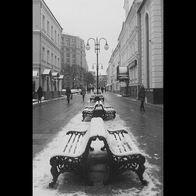 Пятницкий проезд. м. Новокузнецкая. Vscocam Blackandwhite Instasnow