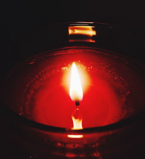 Burning candles on hot summer evenings Candle Summer First Eyeem Photo